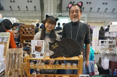 拭き漆家具工房岳了 猫と優雅に暮らすための家具をご提案♪安心安全にこだわり、北海道の広葉樹と会津の漆を使用。made in Japan & only one の拭き漆家具と猫小物アクセサリーを制作しています。