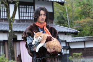 若手忍者「陽炎太」と「父上」という猫の物語です。