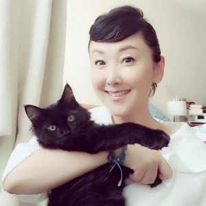 東ちづるさんと愛猫